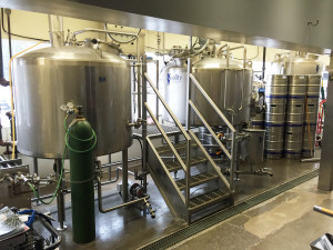 Micro brewery up and running